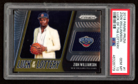 Zion Williamson 2019-20 Panini Prizm Luck Of The Lottery RC #1 (PSA 10) at PristineAuction.com