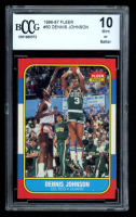 Dennis Johnson 1986-87 Fleer #50 (BCCG 10) at PristineAuction.com