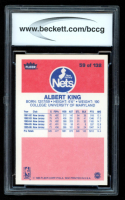 Albert King 1986-87 Fleer #59 RC (BCCG 10) at PristineAuction.com