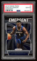 Zion Williamson 2019-20 Panini Prizm Emergent #7 (PSA 10) at PristineAuction.com
