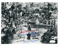 """The Wizard Of Oz"" 8x10 Photo Cast-Signed by (5) with Mickey Carroll, Jerry Maren, Donna Stewart-Hardaway, Ruth Duccini, Karl Stover (JSA Hologram) at PristineAuction.com"