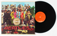 "Vintage The Beatles ""Sgt. Pepper's Lonely Hearts Club Band"" Original Vinyl Record Album at PristineAuction.com"