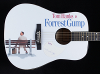 """Tom Hanks Signed Custom """"Forrest Gump"""" Acoustic Guitar (PSA Hologram) at PristineAuction.com"""