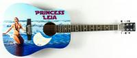 "Carrie Fisher Signed Custom ""Princess Leia"" Acoustic Guitar (PSA Hologram) at PristineAuction.com"