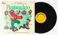 "Vintage 1963 Walt Disney's ""Pinocchio"" Original Soundtrack Vinyl Record Album at PristineAuction.com"