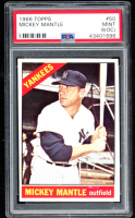 Mickey Mantle 1966 Topps #50 DP (PSA 9) (OC) at PristineAuction.com