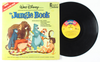 "Walt Disney's ""The Jungle Book"" Original Soundtrack Read-Along Book Vinyl Record Album at PristineAuction.com"