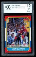 Hakeem Olajuwon 1986-87 Fleer #82 RC (BCCG 10) at PristineAuction.com