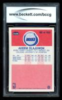 Hakeem Olajuwon 1986-87 Fleer #82 RC (BCCG 10) at PristineAuction.com