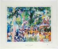 """LeRoy Neiman Signed """"Tavern on the Green: Central Park, New York City"""" 19x23 Vintage Lithograph on Heavy Paper (PSA COA) at PristineAuction.com"""