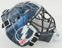 Andrei Vasilevskiy Signed Lightning Mini Goalie Mask (YSMS COA) at PristineAuction.com