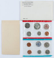 1969 United States Uncirculated Coin Set with (10) Coins at PristineAuction.com