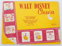 "Vintage 1957 Disney ""Walt Disney Classics"" Original Sheet Music at PristineAuction.com"