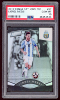 Lionel Messi 2017 Panini National Convention VIP #87 (PSA 10) at PristineAuction.com