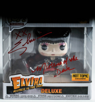 "Cassandra Peterson Signed ""Elvira: Mistress of the Dark"" #894 Elvira Deluxe Funko Pop! Vinyl Figure Inscribed ""Mistress of The Dark"" (Beckett Hologram) at PristineAuction.com"