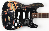 """Slaughter"" 39"" Electric Guitar Signed by (4) with Mark Slaughter, Jeff Bland, Dana Strum & Zoltan Chaney (JSA COA) at PristineAuction.com"