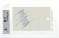 Donald Trump Signed 3x5 Cut (BGS Encapsulated) at PristineAuction.com