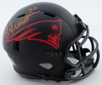 Chase Winovich Signed Patriots Eclipse Alternate Speed Mini-Helmet (Beckett COA) at PristineAuction.com