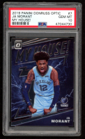 Ja Morant 2019-20 Donruss Optic My House #7 (PSA 10) at PristineAuction.com