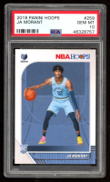 Ja Morant 2019-20 Hoops #259 RC (PSA 10) at PristineAuction.com