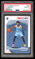 Ja Morant 2019-20 Hoops Winter #259 (PSA 10) at PristineAuction.com