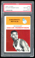 Oscar Robertson 1961-62 Fleer #36 RC (PSA 8) (OC) at PristineAuction.com
