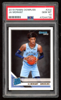 Ja Morant 2019-20 Donruss #202 RR RC (PSA 10) at PristineAuction.com