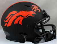 Peyton Manning Signed Broncos Eclipse Alternate Speed Mini-Helmet (Fanatics Hologram) at PristineAuction.com