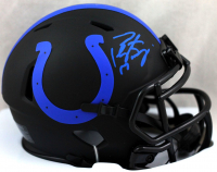 Peyton Manning Signed Colts Eclipse Alternate Speed Mini Helmet (Fanatics Hologram) at PristineAuction.com