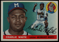 Charlie White 1955 Topps #103 at PristineAuction.com