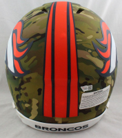 Peyton Manning Signed Broncos Full-Size Authentic On-Field Camo Alternate Speed Helmet (Fanatics Hologram) at PristineAuction.com