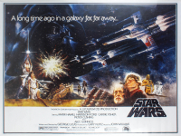 """Star Wars"" 28x37 Movie Poster at PristineAuction.com"
