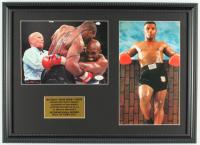 Mike Tyson Signed 16x21.5 Custom Framed Photo Display (JSA COA) at PristineAuction.com