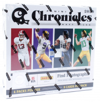 2020 Panini Chronicles Draft Picks Football Hobby Box With (6) Packs at PristineAuction.com