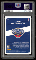 Zion Williamson 2019-20 Donruss Optic My House #15 (PSA 10) at PristineAuction.com