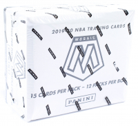 2019-20 Panini Mosaic Basketball Cello Box with (12) Packs at PristineAuction.com