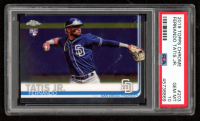 Fernando Tatis Jr.  2019 Topps Chrome #203 RC (PSA 10) at PristineAuction.com