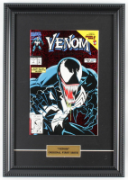 "1992 ""Venom"" Issue #1 Marvel 11x16.5 Custom Framed First Issue Comic Book Display at PristineAuction.com"