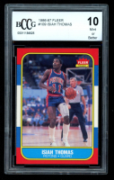 Isiah Thomas 1986-87 Fleer #109 RC (BCCG 10) at PristineAuction.com