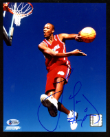 Lamar Odom Signed Clippers 8x10 Photo (Beckett COA) at PristineAuction.com