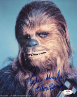 "Peter Mayhew Signed ""Star Wars"" 8x10 Photo Inscribed ""Chewbacca"" (PSA COA) at PristineAuction.com"