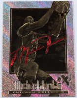 Michael Jordan 1996-97 Skybox Ex-2000 Red Signature Series 23KT Gold Card at PristineAuction.com
