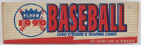 1990 Fleer Stickers & Trading Cards Complete Set of (672) Baseball Cards with Sammy Sosa RC at PristineAuction.com