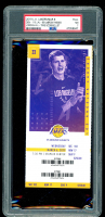 2019 Lakers vs. Nuggets Game Ticket (PSA 7) at PristineAuction.com