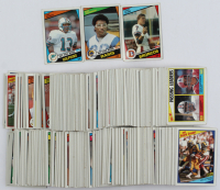 Complete Set of (396) 1984 Topps Football Cards with #63 John Elway RC, #280 Eric Dickerson, #123 Dan Marino RC at PristineAuction.com