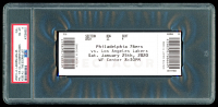 2020 Lakers vs. 76ers Game Ticket (PSA 8) at PristineAuction.com