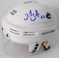 Daniel Sedin & Henrik Sedin Signed Canucks Mini Helmet (JSA Hologram) at PristineAuction.com