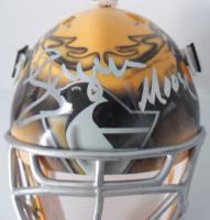 """Johan Hedberg Signed Penguins Mini Goalie Mask Inscribed """"Moose"""" (JSA Hologram) at PristineAuction.com"""