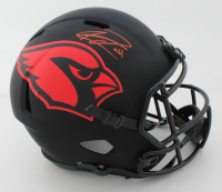 Kenyan Drake Signed Cardinals Full-Size Eclipse Alternate Speed Helmet (Beckett COA) at PristineAuction.com