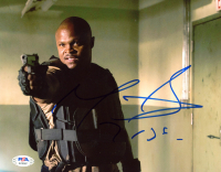 """Robert """"IronE"""" Singleton Signed """"The Walking Dead"""" 8x10 Photo Inscribed """"T-Dog"""" (PSA COA) at PristineAuction.com"""